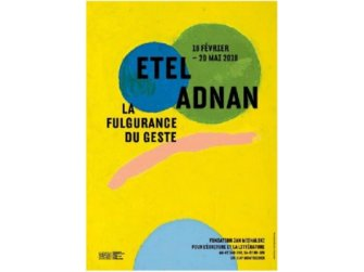 Exposition: Etel Adnan, La fulgurance du geste