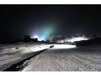Nachtskifahren, Snowtubing by night in Breil/Brigels