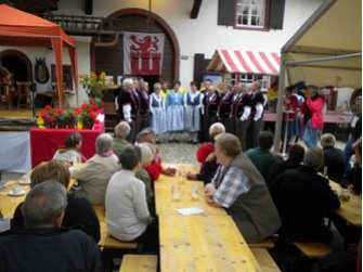 """""""Stuubede"""" beim Bauernhausmuseum Muttenz"""