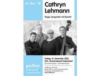 Konzert mit Cathryn Lehmann