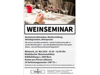 Weinseminar in Bern